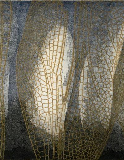 Christine Sloman, Untitled - fragile, H14 x W26 cm, 2 plate etching.