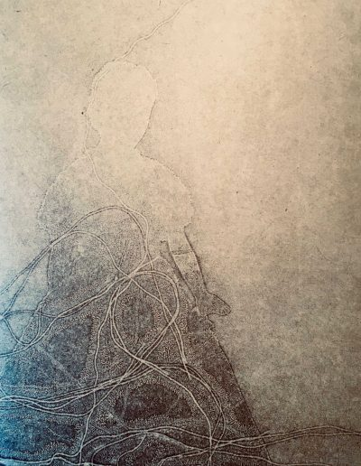 Christine Sloman. Lost Voices V ( a foreign country) Monotypes