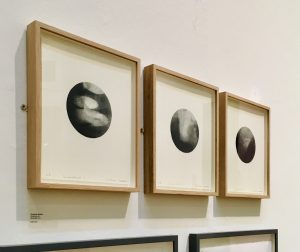 Christine Sloman_ Shadowlands I, II and III_a series of monotypes