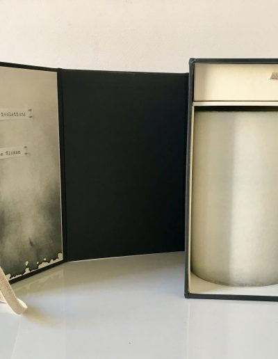 Christine Sloman_ Haar (in isolation)_artist book