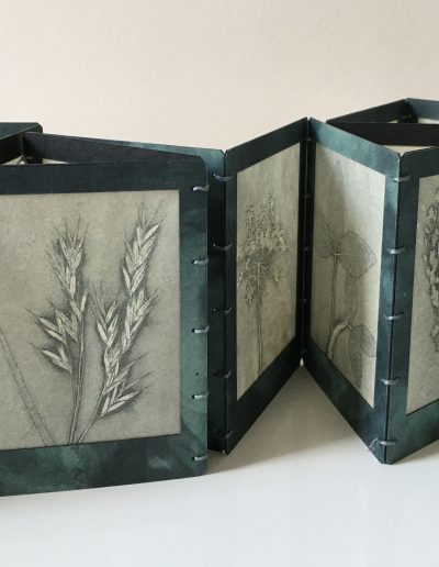 Christine Sloman_Along the Riverbank_artist book